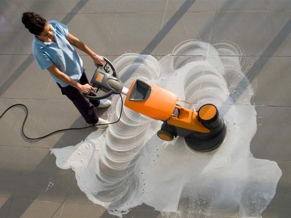 Commercial Floor Cleaning Raleight